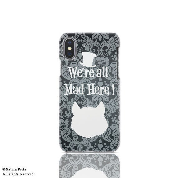 Cover cellulare Stregatto-cover iPhone 7-iPhone 7 Plus-cover iPhone 6/6S-cover Huawei P9-Galaxy S7/S6/S5/S4-Huawei P9-by NATURA PICTA-NP053