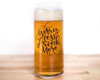 Best friend Christmas Gifts- Groomsman beer glass - craft beer gifts - Gift ideas for men -Gift ideas for guys - Christmas gift for husband