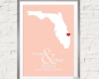 Beach Wedding Guest Book Alternative, Destination Wedding Sign, Guest Sign In Board, Guestbook Sign, Florida Wedding Guest Book Sign In