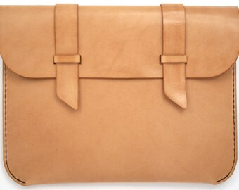 Leather iPad Case - Natural