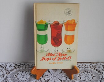 1973 The New Joys of Jello Recipe Book