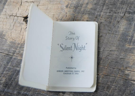 Vintage the story of silent night gibson greeting cards like this item m4hsunfo