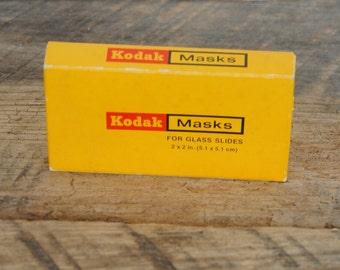 Vintage Kodak Glass Slide Masks 2 x 2 B355 - 135 Size