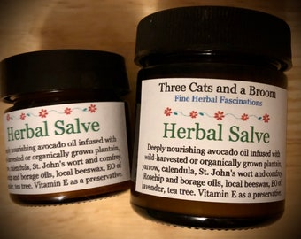 Herbal Salve for Skin Rescue
