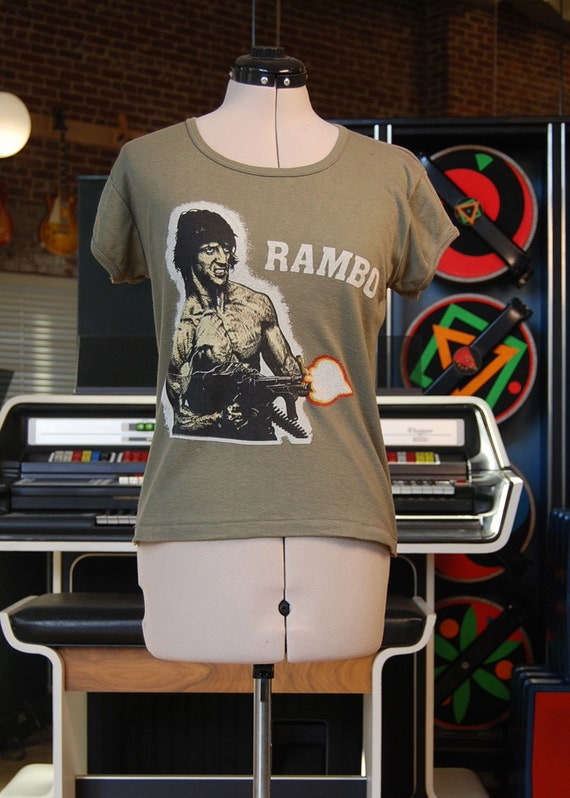 Vintage 80s FIRST BLOOD/Rambo T-Shirt