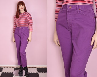 Bongo Jeans Skinny Jeans High Waisted Jeans Blue 80s Denim Cigarette Pants Ankle Colored MOM 90s Vintage Hipster Medium 30 10