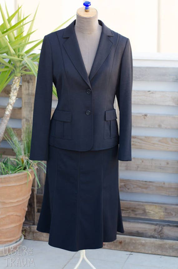 Betty Barclay Suit - Black Suit - Jacket, Skirt, T