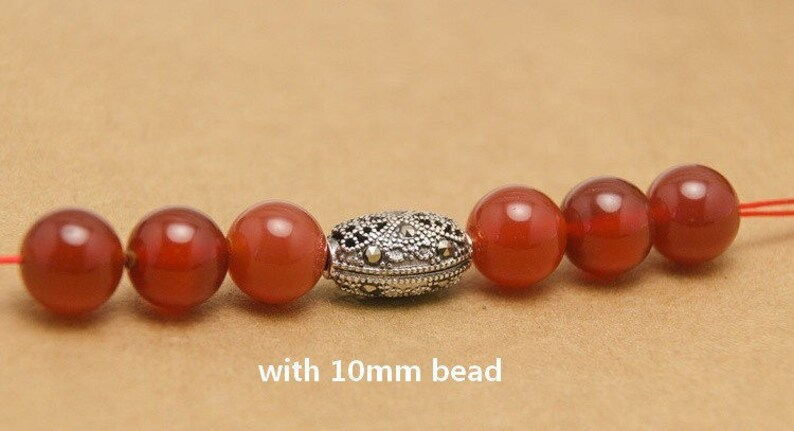 antique silver ethnic beads 925 sterling silver marcasite oval beads marcasite beads bracelet diy