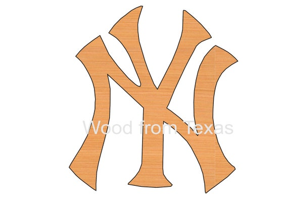 New York Yankee Logo Ornaments Diy Craft Supplies Etsy