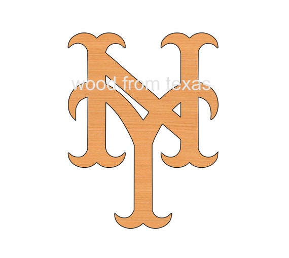 New York Mets Logo Shapes Ornaments Diy Craft Supplies Etsy