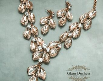 ecae4d563993d Evening jewelry   Etsy