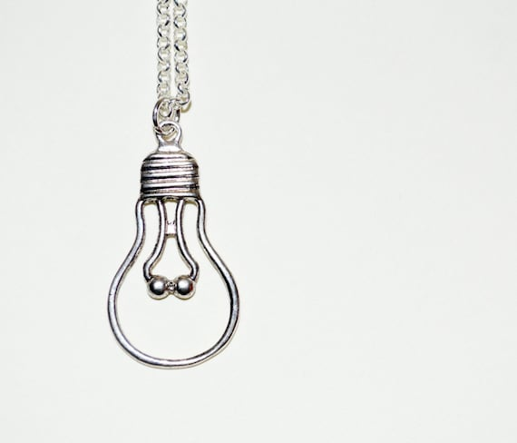 Lightbulb Necklace