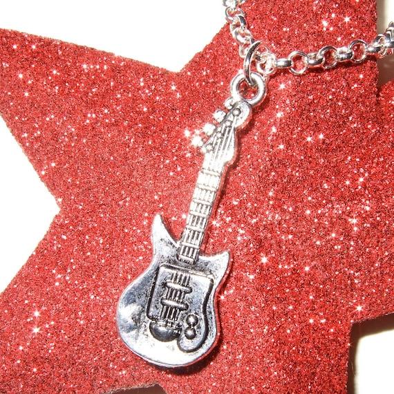 Guitar Necklace