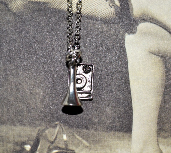 Gramophone Necklace