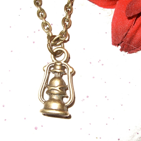 Gas Light Necklace