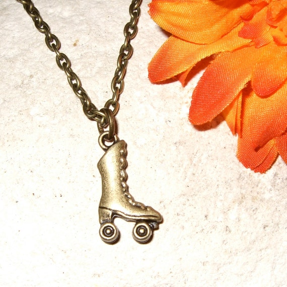 Roller Boot Necklace