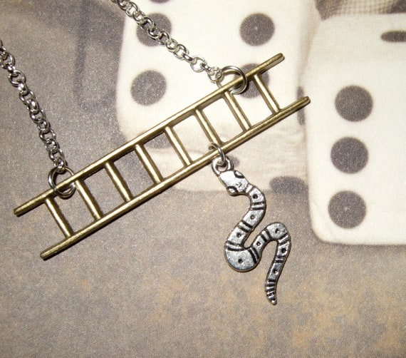 Snakes and Ladders Necklace