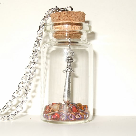 Dagger Bottle Necklace