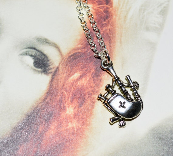 Bagpipes Necklace