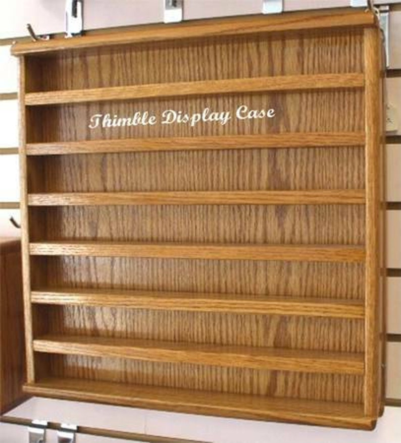 Thimble Oak Display Cases FREE Shipping image 0