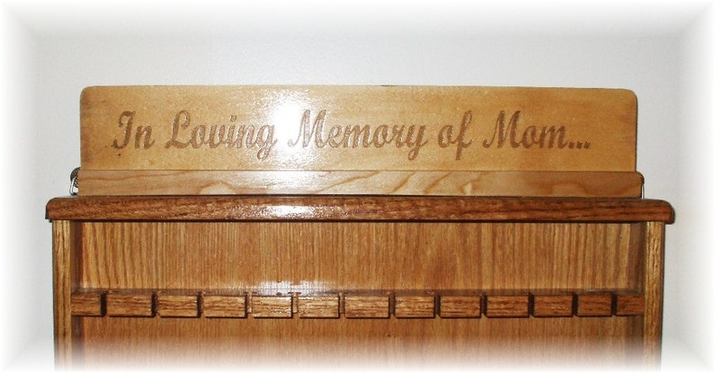 Personalized Engraving for Display Cases image 0