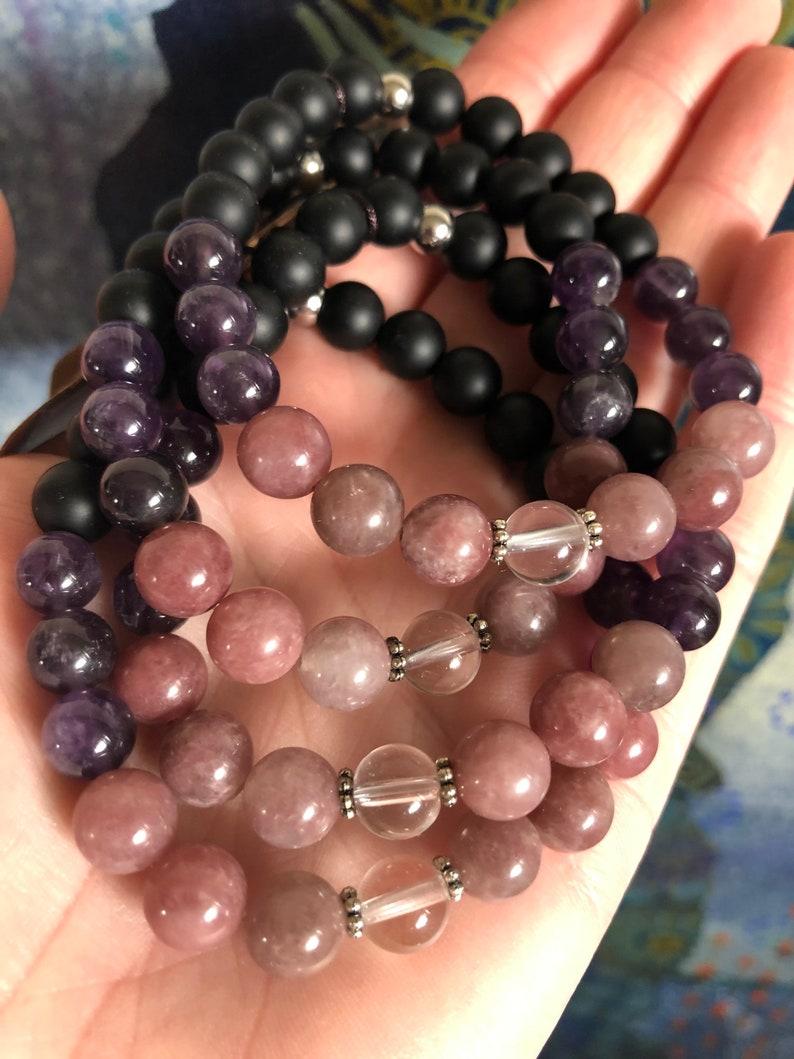 Empath Protection Bracelet Empath Jewelry HSP Bracelet image 1
