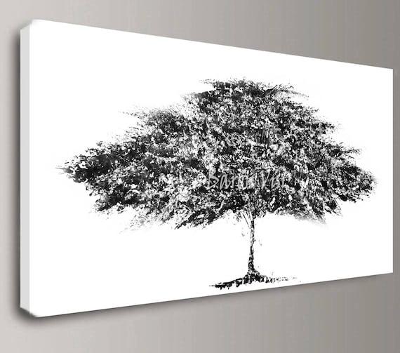 Peinture Peinture Mur Blanc Noir Bureau Chambre Décoration Grande Toile Texturée Empâtement Art Visi D Art Peinture Acrylique Abstraite