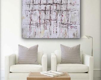 Braun Malerei, Abstrakte Malerei Acryl Große Wand Kunst Home Office Innen  Schlafzimmer Dekor Leinwand Spachtel Benutzerdefinierte Visi