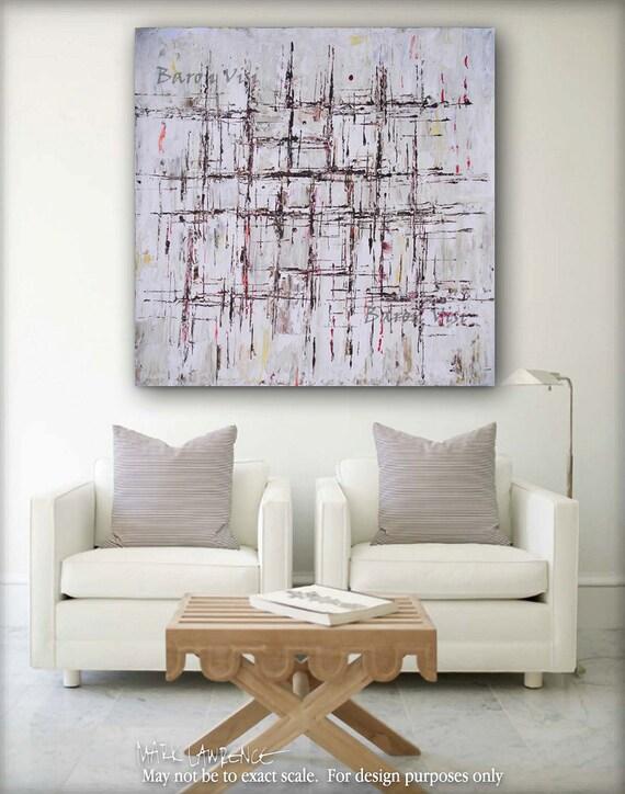 Braun Malerei Abstrakte Malerei Acryl Große Wand Kunst | Etsy