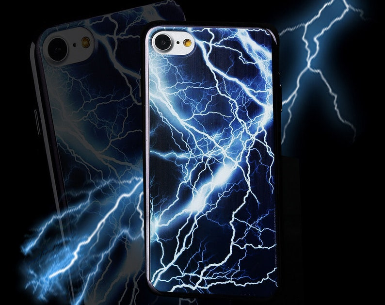 blue lightning iphone 6 case