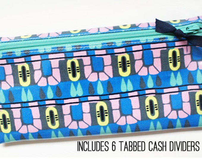 Cool palette cash envelope budget wallet