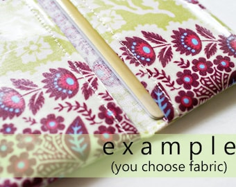 Two pocket card holder | card case