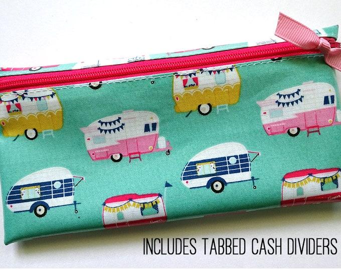 Glamper slim coupon organizer or budget wallet