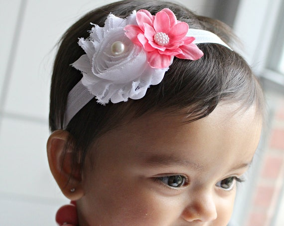 Baby Headband- Baby Girl Bows - Newborn Headbands- Baby Girl Headbands - Infant Headband -Baby Hair Accessories - Baby Girl Headband