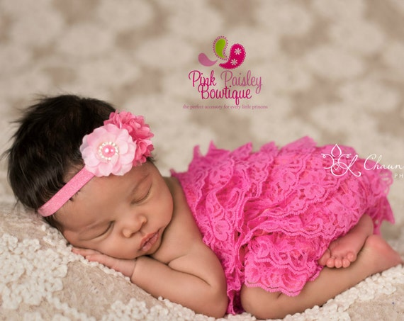 Baby Girl Clothes. Newborn Coming home outfit 2PC. Pink Romper Baby girl 1st Birthday romper. Baby 1st Birthday Outfit. Hospital Photos