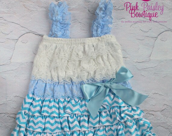 Blue cake Smash Outfit.  1st Birthday outfit. Baby Girl Clothes - Newborn coming home outfit. Baby Girl Cake Smash Outfit - Hospital Photos