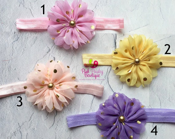Baby Headband. You Pick 1 Infant headband. Baby Shower Gift. Newborn Hair Bows. Baby hair accessories Baby Hairbows, Baby Bows Baby Girl Bow