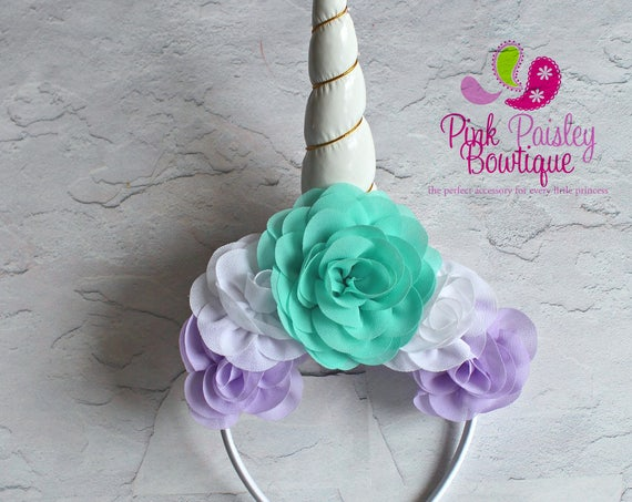 Baby Headband - Unicorn headbands - Baby Girl Headbands - Unicorn Bows - Unicorn Baby Headband - Unicorn Headband - Unicorn Photo Prop