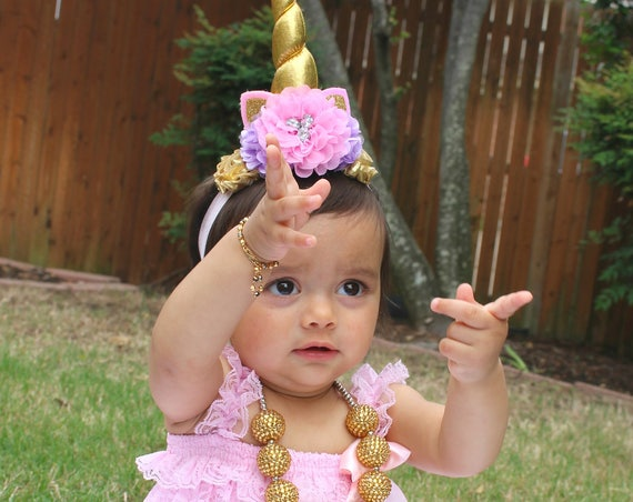 Unicorn Birthday Outfit, Unicorn Birthday Shirt, Unicorn 1st Birthday Outfit, Cake Smash Outfit, Baby Girl Unicorn Outfit, Baby 1st Birthday