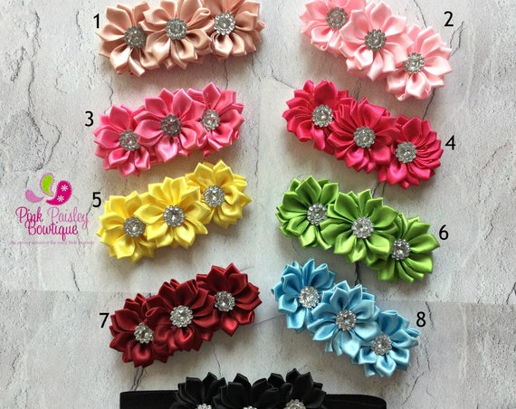 Baby Headband - You pick 1 - Baby Girl Headbands - Baby Hairbows - Infant Headband - Red Headband - headband baby Baby bows