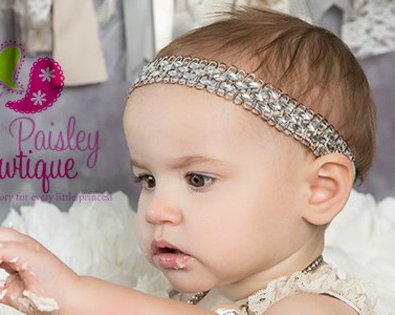 You Pick 1 Halo Baby Headband. Christmas Headband. Baby Girl Headbands. Gold & Silver Baby Hair bows. Baby Hair Accessories. Infant Bows