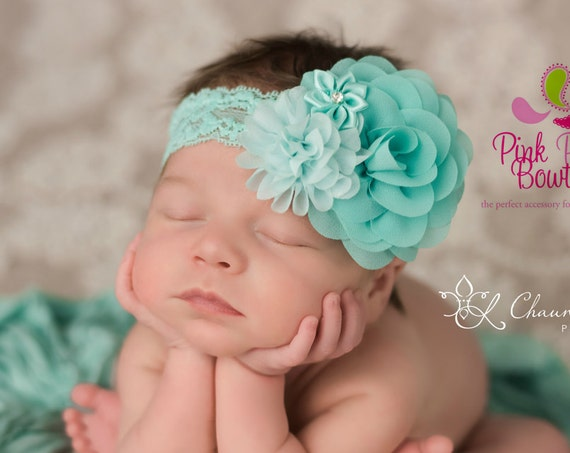 Baby Headband- Easter Bows - 18 color- Newborn Headbands- Baby Girl Headbands - Infant Headband -Baby Hair Accessories - Baby Girl Headband