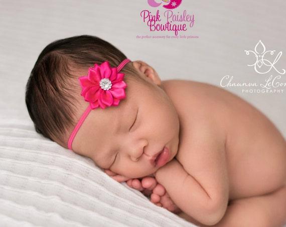 YOU PICK 1 Baby Headband  - 29 Options - Baby Girl Headbands - Infant Headband- Baby Hair Accessories - Newborn Headband - Baby Gifts Bows