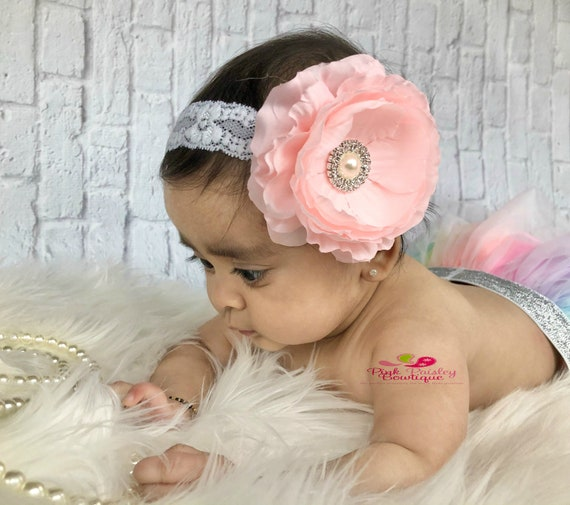 You PICK 1 Baby Headbands - Newborn Headbands- Infant Flower Headband. Baby Hair Accessories. Baby hairbows. Baby Bows, baby girl headbands