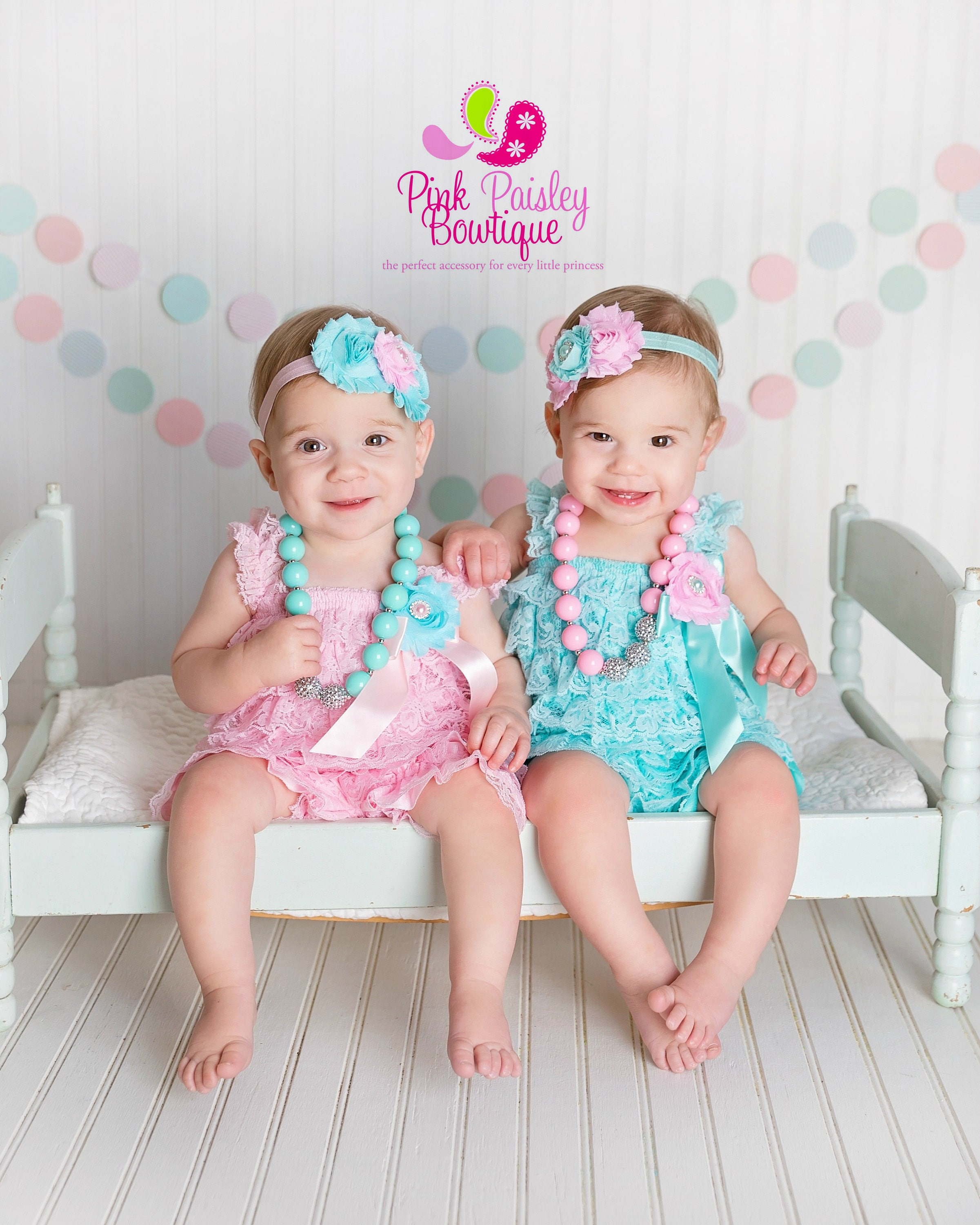 Twin Girls 1st Birthday Outfit Babies Outfits