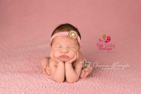 Baby Headband - You pick 1 Headband - Baby Girl Headbands - Newborn headbands - Baby Hairbows - Infant Headband