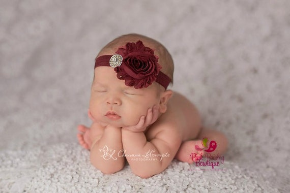 Fall color Baby Headband - Newborn Headbands - Infant headband - Baby Hair Accessories - Couture Baby Girl Headband - headband baby