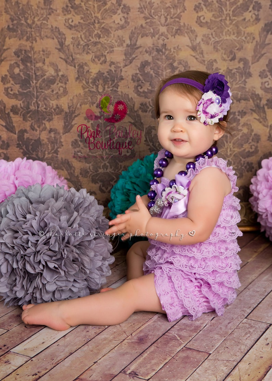 lavender birthday baby girl photo Cake smash First birthday outfit 1st Birthday Girl Outfit photo prop Girls first birthday outfit