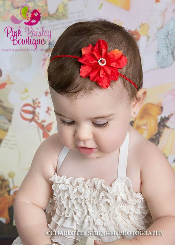 SALE Baby Headband - Newborn Bows - You Pick 1 Baby Girl Headbands - Infant headbands - Baby Hairbows. Baby Hair Accessories - Baby Bows