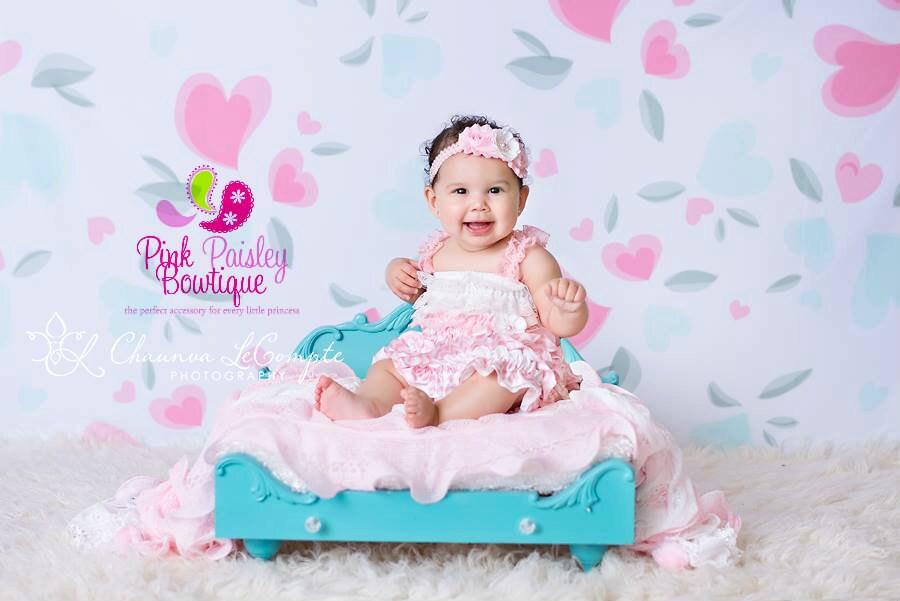 853842b886fc0 Vintage Chevron Lace Petti Dress.3 PC Baby Girl 1st Birthday Dress ...